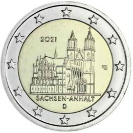 2 euro Allemagne 2021 - Cathédrale de Magdebourg