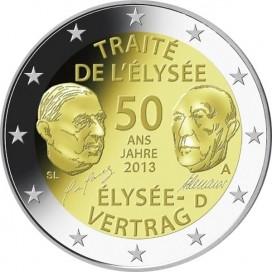 2 Euro ALLEMAGNE 2013 Traité Elysée