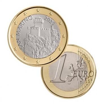 1 Euro Saint Marin 2021