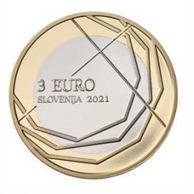 3 euro Slovénie 2021 Škofja Loka