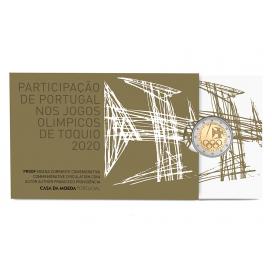 2 Euro Portugal 2021 Belle Epreuve - Jo de Tokyo 2020
