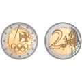 2 Euro Portugal 2021 Brillant Universel - Jo de Tokyo 2020