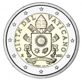 2 Euro Vatican 2021 Courante