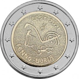 2 Euro Estonie 2021 - peuples finno-ougriens