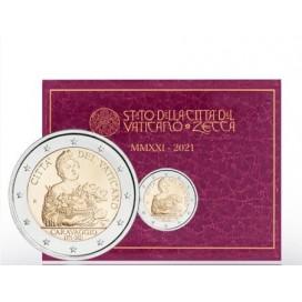 2 Euro Vatican 2021 - 450e anniversaire de la naissance du Caravage