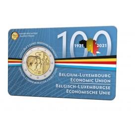 Coincard Flamande 2 Euro Belgique 2021