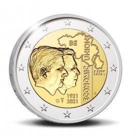 2 Euro Belgique 2021 UNC