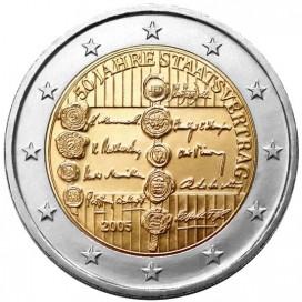 2 Euro AUTRICHE 2005 Traité Autrichien