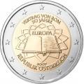 2 Euro Autriche 2007 Traité de Rome