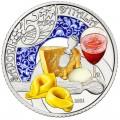 5 euro Italie 2021 Lambrusco et tortellini