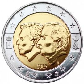 2 Euro BELGIQUE 2005 Grand duc