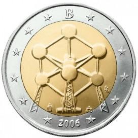 2 Euro BELGIQUE 2006 Atomium