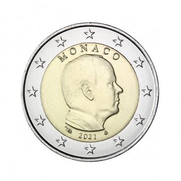 2 Euro Monaco Albert 2021