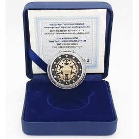 2 Euro Belle Epreuve Grèce 2021 - Bicentenaire de la Révolution Grecque