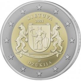 2 Euro Lituanie 2021 - Dzūkija