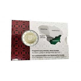 Coincard 2 Euro Lituanie 2021 - Dzūkija