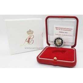 2 Euro Monaco 2021 10 ans du mariage Princier