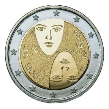 2 Euro FINLANDE 2006 Suffrage Universel