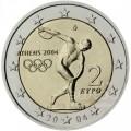 2 Euro Grèce 2004 Jeux Olympiques