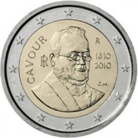 2 Euro italie 2010 Cavour
