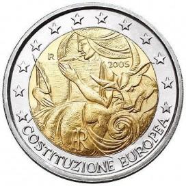 2 Euro italie 2005 Constitution UE