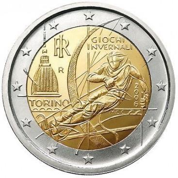2 Euro italie 2006 Jeux de Turin