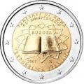 2 Euro Italie 2007 Traité de Rome