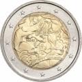 2 Euro Italie 2008 Droits de l' Homme