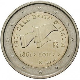 2 Euro Italie 2011 Unification de l'Italie