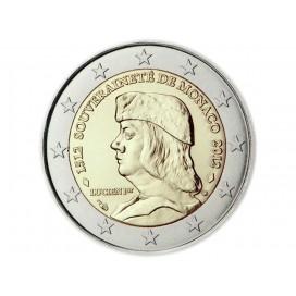 2 Euro MONACO 2012 Lucien 1er