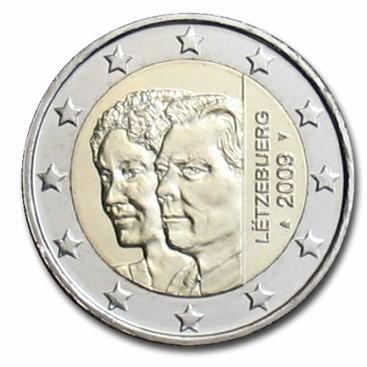 2 Euro luxembourg 2009 Grand Duc Henri Charlotte
