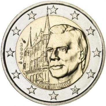 2 Euro Luxembourg 2007 Palais Grand Ducal