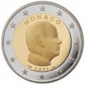 2 Euro Monaco 2011 Albert II