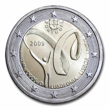 2 Euro Portugal 2009 Jeux de Lusophonie