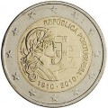 2 Euro Portugal 2010 Centenaire de la Republique