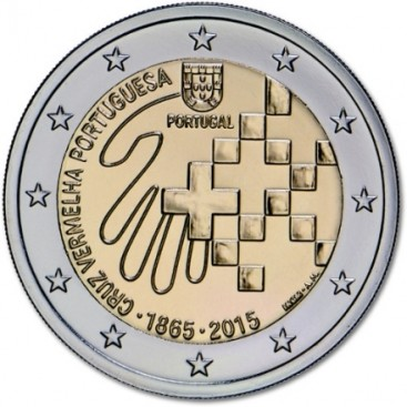 2 euro Portugal 2015 Croix Rouge