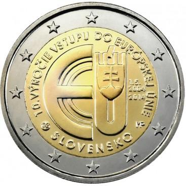 2 euro commémorative SLOVAQUIE 2014