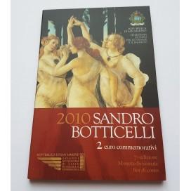 2 Euro Saint Marin 2010 Sandro Botticelli