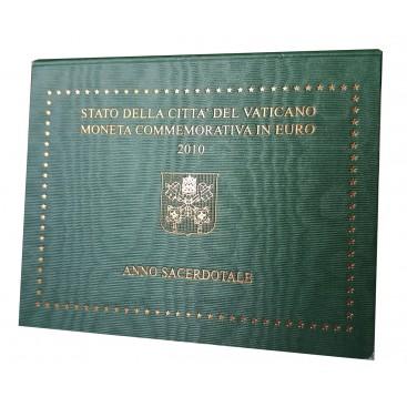 2 Euro vatican 2010 Année Sacerdotale