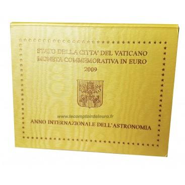 2 Euro VATICAN 2009 Année de l'Astronomie