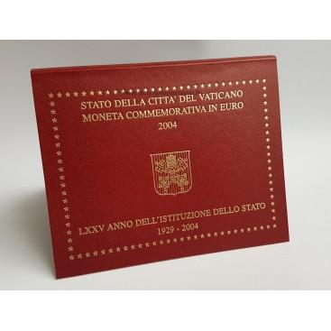 2 euro Vatican 2004 75 ans de l'indépendance