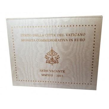 2 euro Vatican SEDE VACANTE 2013