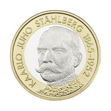 5 Euro Finlande 2016 Stahlberg