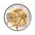 5 Euro Luxembourg 2016 bleuet