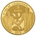 5 Euro Europa 2012