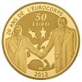 50 Euro Europa 2012