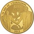 500 Euro Europa 2012