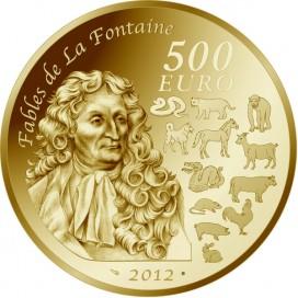 500 Euro ANNÉE DU DRAGON 2012