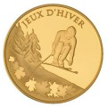 50 Euro or jeux d'hiver2009
