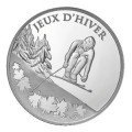10 Euro ARG BE 2009 Jeux d'hiver - Ski alpin
